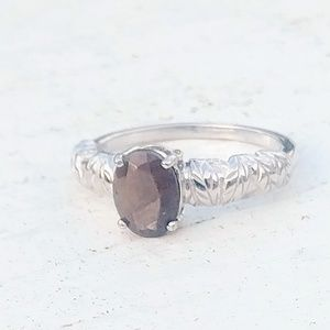 Chocolate Sapphire Ring as 7